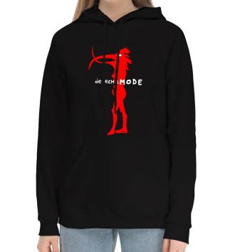 Женский Хлопковый худи Depeche Mode