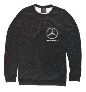 Женский Свитшот Mercedes - Снежный