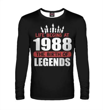 Мужской Лонгслив 1988 - рождение легенды