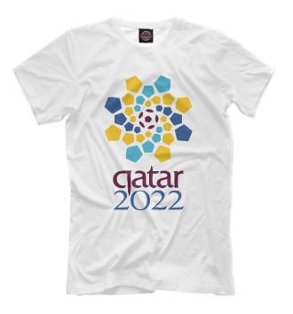 Мужская Футболка Катар 2022