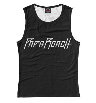 Женская Майка Papa Roach