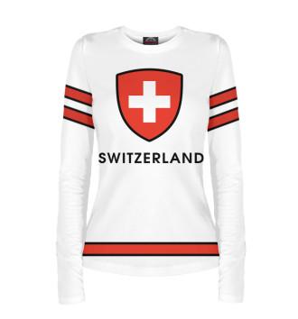 Женский Лонгслив Сборная Швейцарии