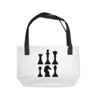 Пляжная сумка Chess
