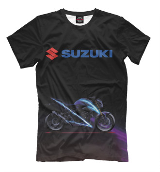 Мужская Футболка Suzuki