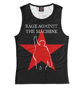 Женская Майка Rage Against the Machine
