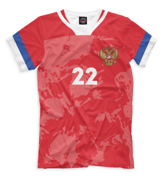 Мужская Футболка Dzyuba 22