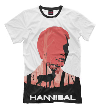 Мужская Футболка Hannibal