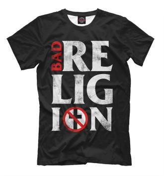 Мужская Футболка Bad Religion