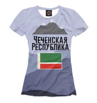 Женская Футболка Чечня