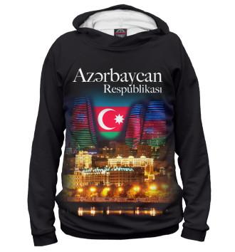 Мужское Худи Азербайджанская Республика