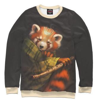 Женский Свитшот Red panda