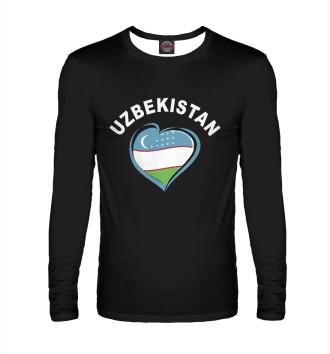 Мужской Лонгслив Узбекистан