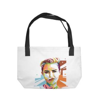 Пляжная сумка Miley Cyrus