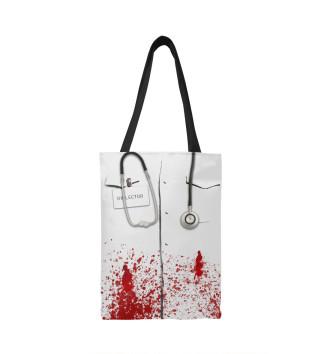 Сумка-шоппер bloody doctor