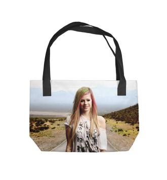 Пляжная сумка Avril Lavigne