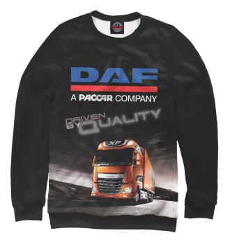 Мужской Свитшот DAF - Driven By Quality