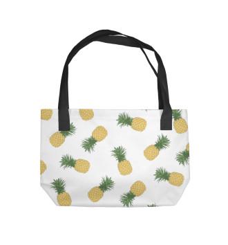 Пляжная сумка Ананасы