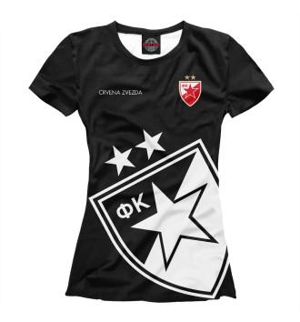 Женская Футболка Црвена Звезда