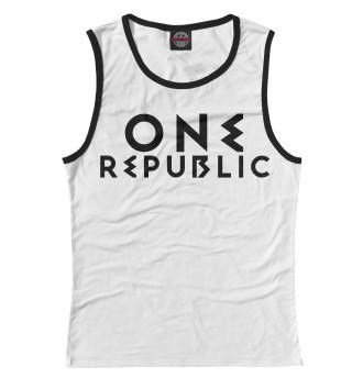 Женская Майка OneRepublic