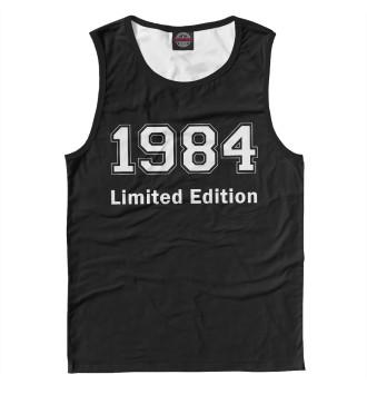Мужская Майка 1984 Limited Edition