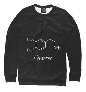 Женский Свитшот Химия Дофамин