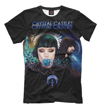 Мужская Футболка Crystal Castles