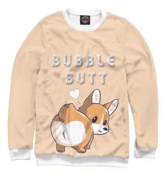 Женский Свитшот Bubble butt