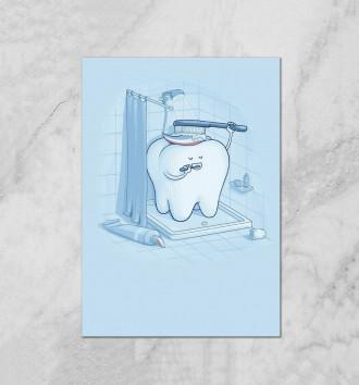 Зубик Моется