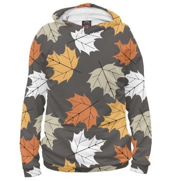 Женское Худи Осенние листья