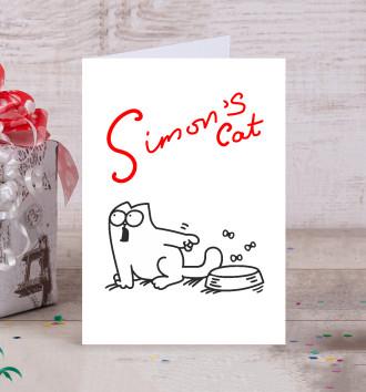 Кот Саймона хочет кушать