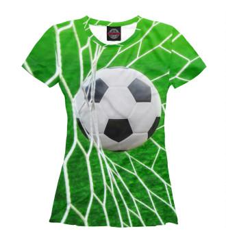 Женская Футболка Футбол