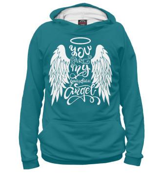 Женское Худи Ты мой ангел-хранитель