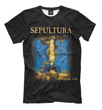 Мужская Футболка Sepultura