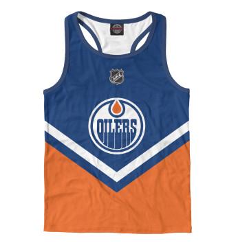 Мужская Борцовка Edmonton Oilers