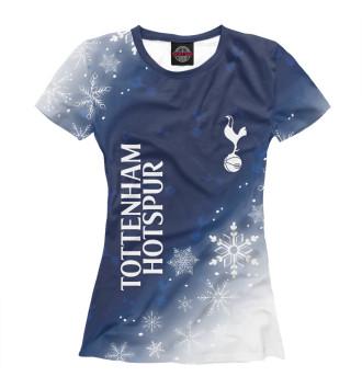 Женская Футболка Tottenham Hotspur - Snow
