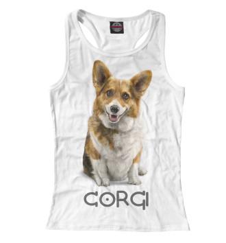 Женская Борцовка Corgi Dog