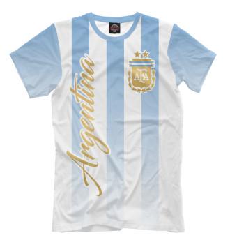 Мужская Футболка Аргентина