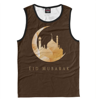 Мужская Майка Eid Mubarak