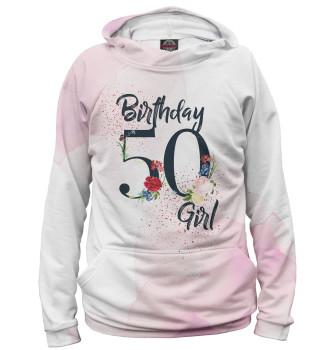 Женское Худи 50 лет