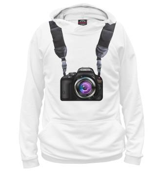 Мужское Худи Фотоаппарат всегда со мной