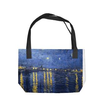 Пляжная сумка Ван Гог