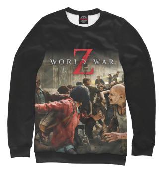 Мужской Свитшот World War Z