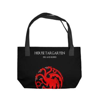 Пляжная сумка House Targaryen