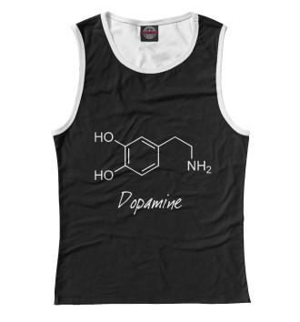 Женская Майка Химия Дофамин