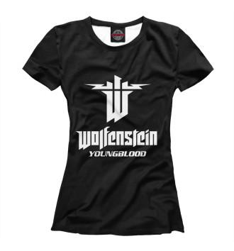 Женская Футболка Wolfenstein: Youngblood