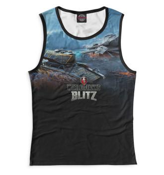 Женская Майка World of Tanks Blitz