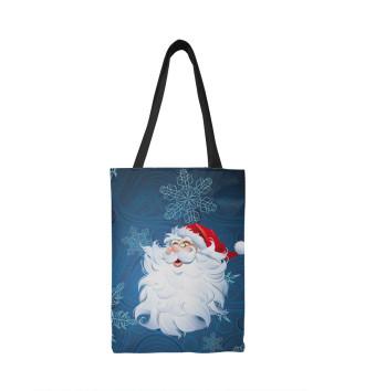 Сумка-шоппер Веселый Дед Мороз