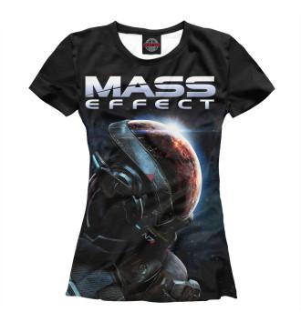 Женская Футболка Mass Effect