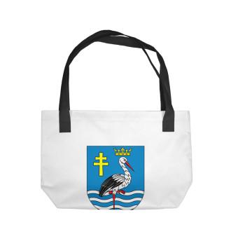 Пляжная сумка Герб Вейшнории