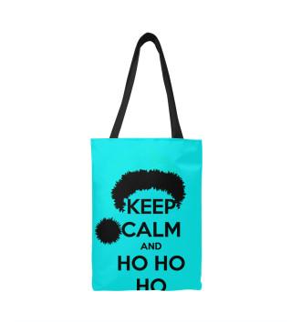 Сумка-шоппер Keep calm and ho ho ho